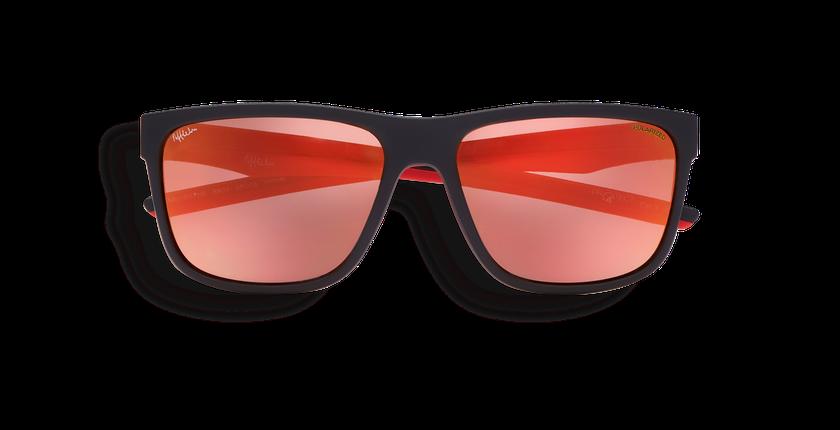 Gafas de sol hombre WAYNE negro - vista de frente