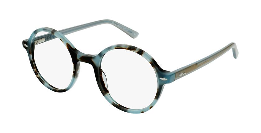 Gafas graduadas CAMELIA carey/azul - vue de 3/4