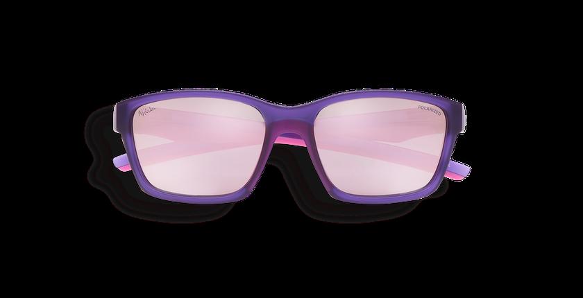 Gafas de sol niños JOE morado - vista de frente