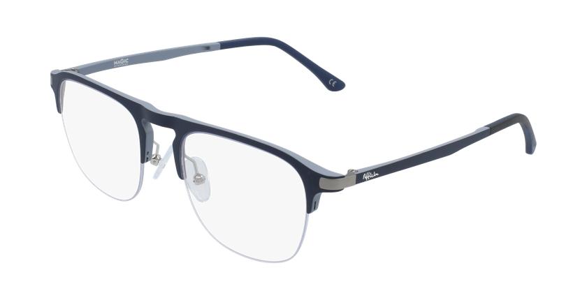 Gafas graduadas hombre MAGIC 57 BLUEBLOCK azul/gris - vue de 3/4