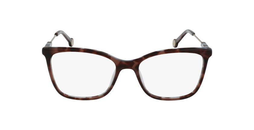 Gafas graduadas mujer VHE846 carey/carey - vista de frente