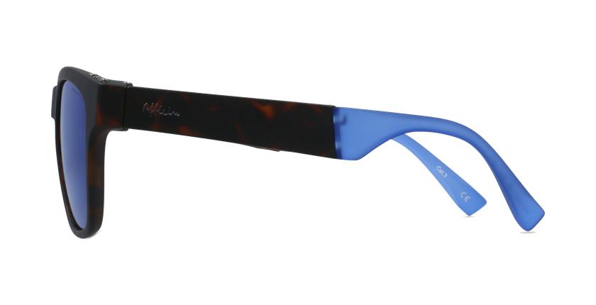 Gafas de sol hombre GEANT carey/azul - vista de lado