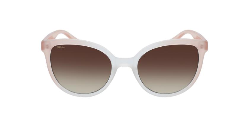Gafas de sol mujer PALOMA rosa - vista de frente