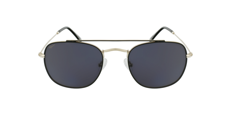 Gafas de sol hombre TOSSA negro/dorado