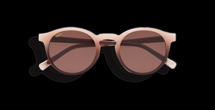 Gafas de sol mujer CARMEN marrón - vista de frente