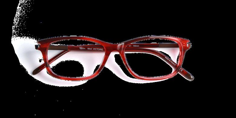 Gafas graduadas mujer VICTOIRE rojo