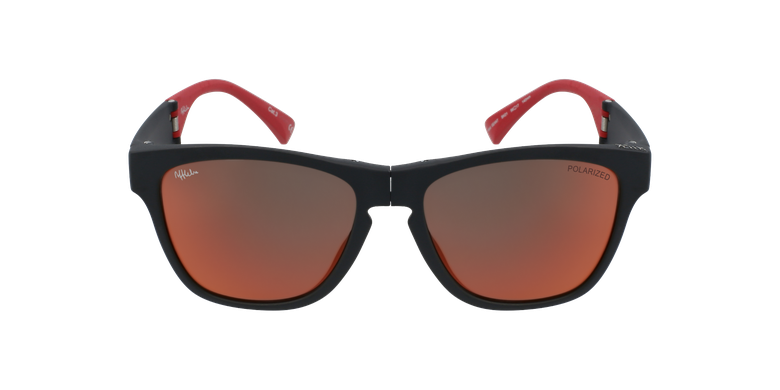 Gafas de sol hombre GEANT negro/rojo