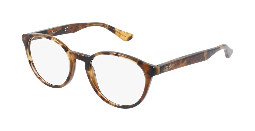 Gafas graduadas 0RX5380 carey/marrón - vue de 3/4