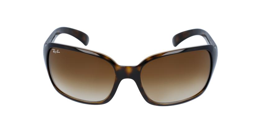 Gafas de sol mujer 0RB4068 marrón - vista de frente