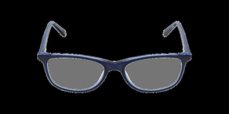 Gafas graduadas mujer SOLINE azulvista de frente