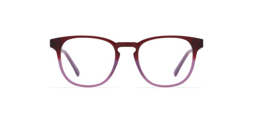 Gafas graduadas hombre BLAISE morado - vista de frente