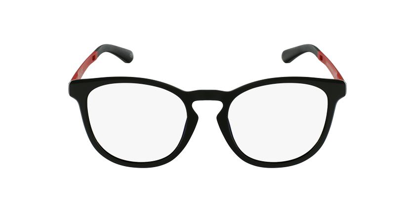Gafas graduadas hombre MAGIC 63 negro/rojo - vista de frente