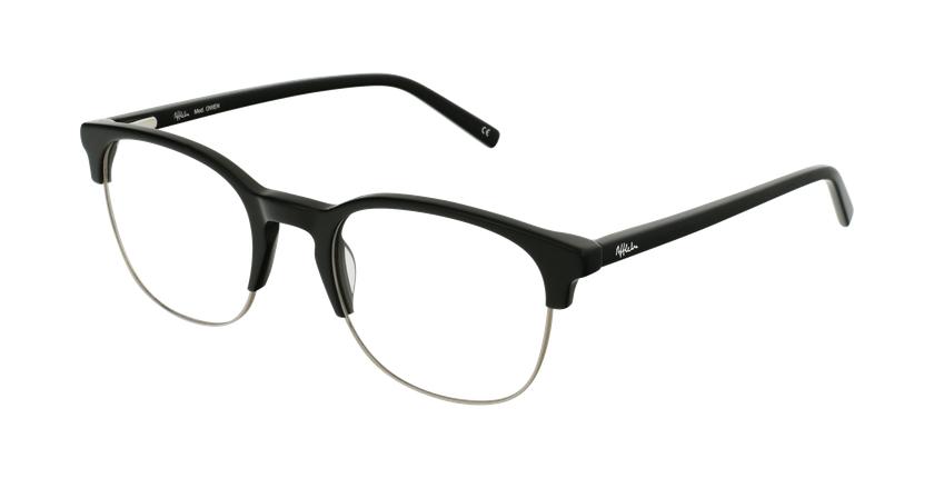 Gafas graduadas OWEN negro - vue de 3/4