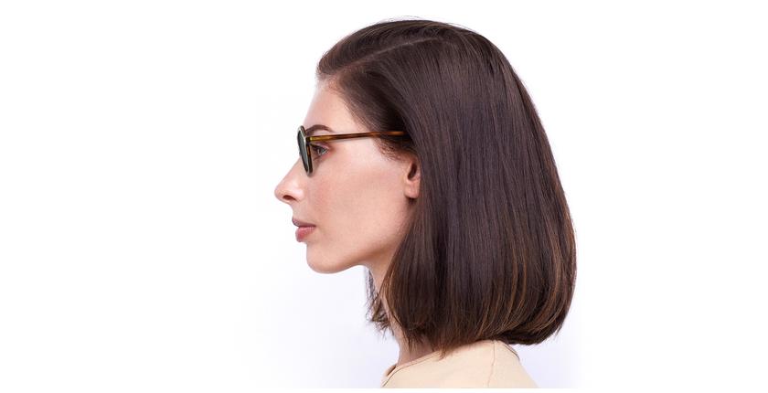 Gafas de sol mujer CLEA carey - vista de lado