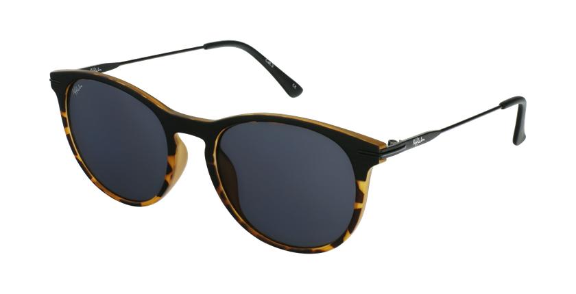 Gafas de sol hombre ARES negro/carey - vue de 3/4