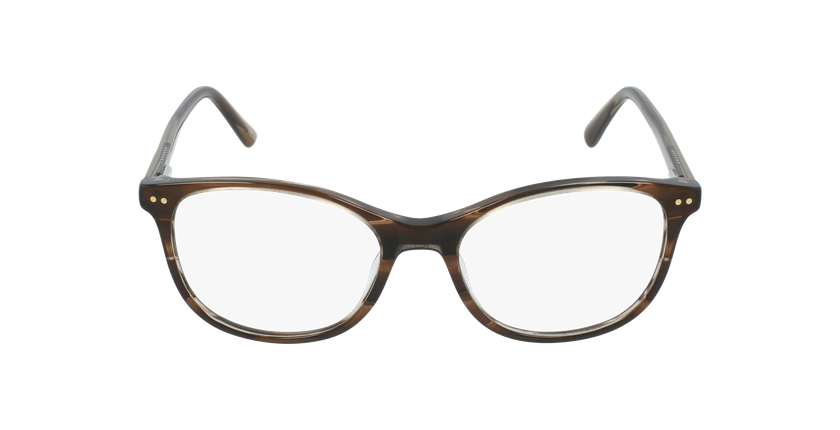 Gafas graduadas niños PAULA marrón - vista de frente