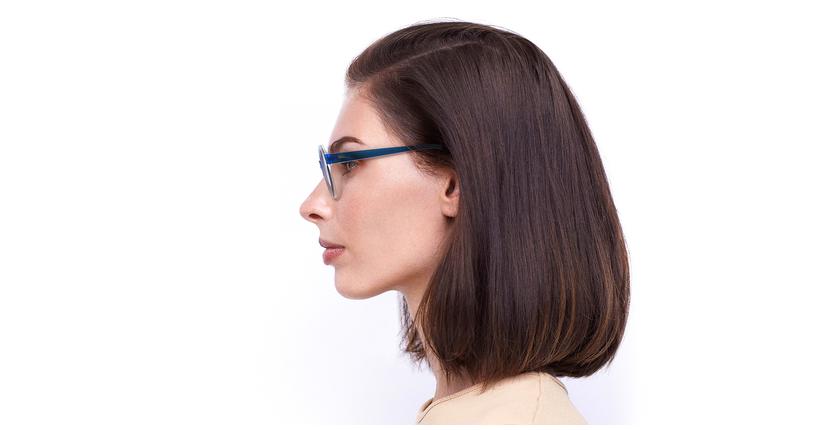 Gafas de sol mujer CHACHA azul - vista de lado