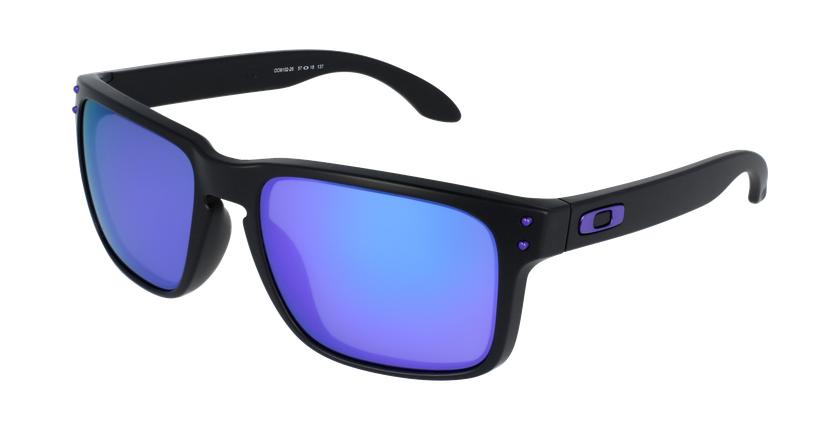 Gafas de sol hombre HOLBROOK azul/negro - vue de 3/4