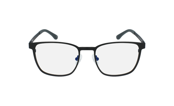 Gafas graduadas hombre MAGIC 42 BLUEBLOCK negro - vista de frente