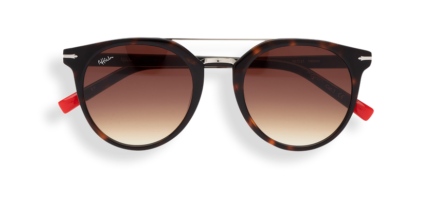 Gafas de sol hombre BOWEN carey/carey - vista de frente
