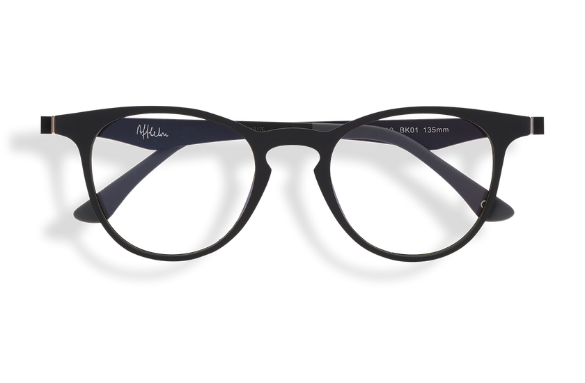 Gafas graduadas MAGIC 27 BLUE BLOCK negro - danio.store.product.image_view_face