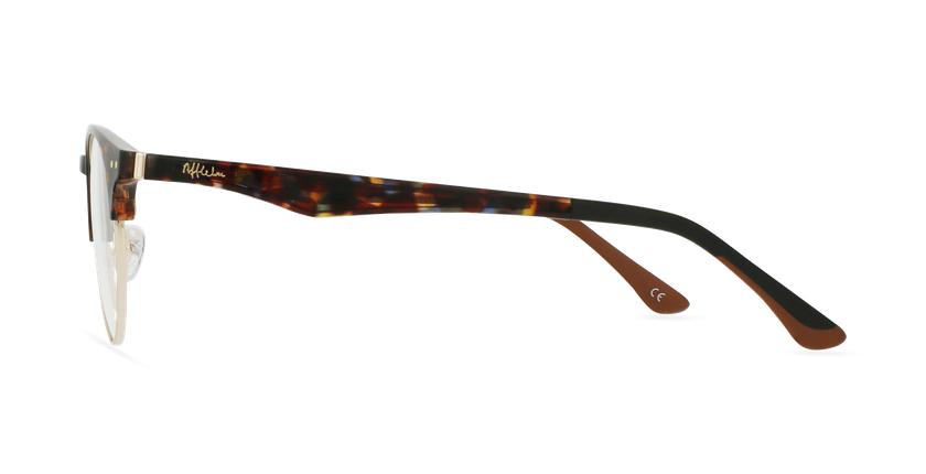 Gafas graduadas TMG93 carey/dorado - vista de lado