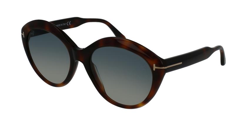 Gafas de sol mujer MAXINE marrón - vue de 3/4