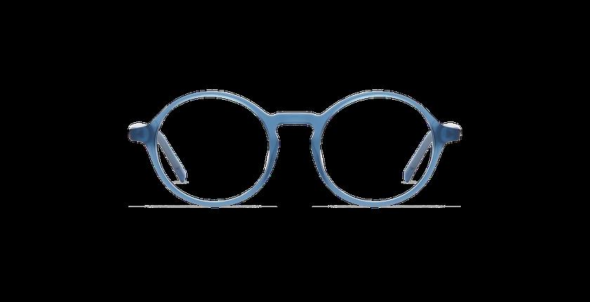 Gafas graduadas hombre DIDIER azul/gris - vista de frente