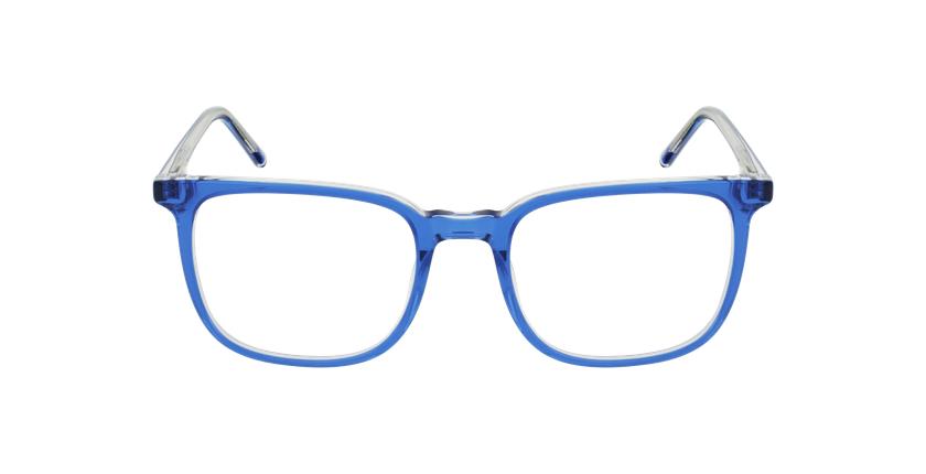 Gafas graduadas GASPARD azul - vista de frente