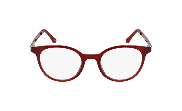 Gafas graduadas mujer MAGIC 36 BLUE BLOCK rojo - vista de frente