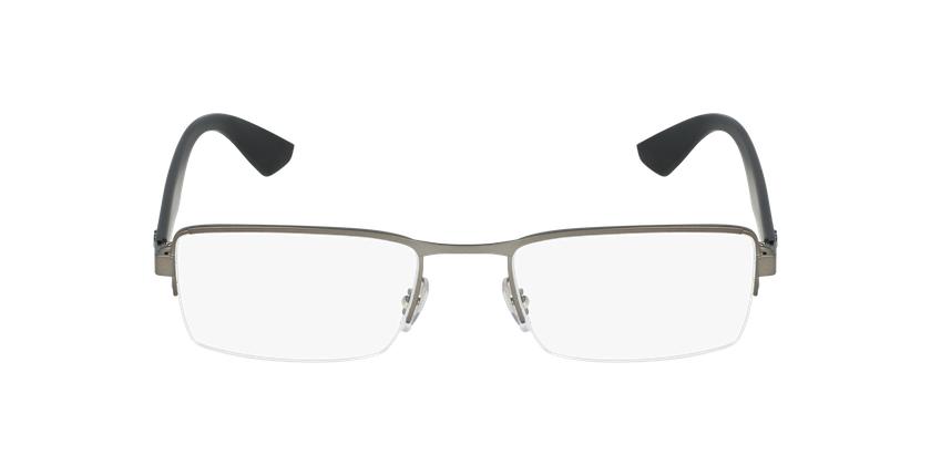 Gafas graduadas hombre RX3447V plateado - vista de frente