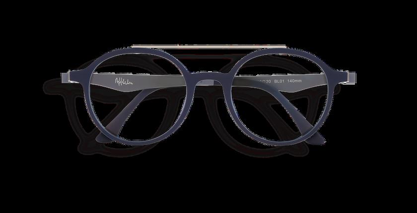 Gafas de sol MAGIC 26 BLUE BLOCK azul/gris - vista de frente