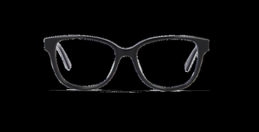 Gafas graduadas mujer LAORA negro - vista de frente
