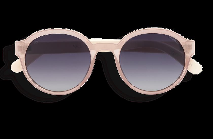 Gafas de sol FARA POLARIZED rosa/beige - danio.store.product.image_view_face