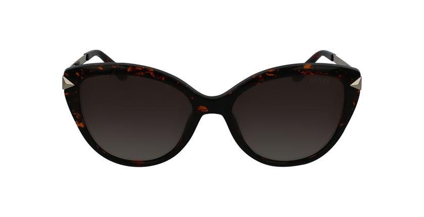 Gafas de sol mujer GU7658 marrón - vista de frente