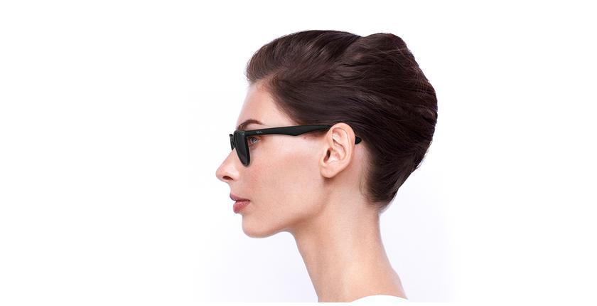 Gafas de sol H2O negro - vista de lado