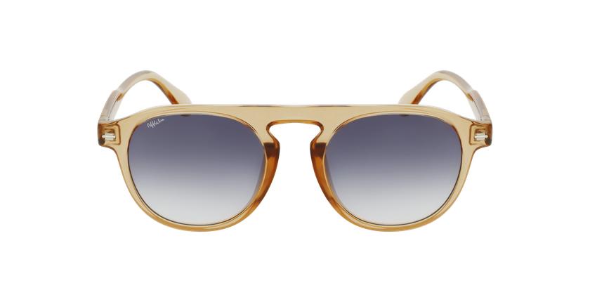 Gafas de sol BEACH dorado - vista de frente
