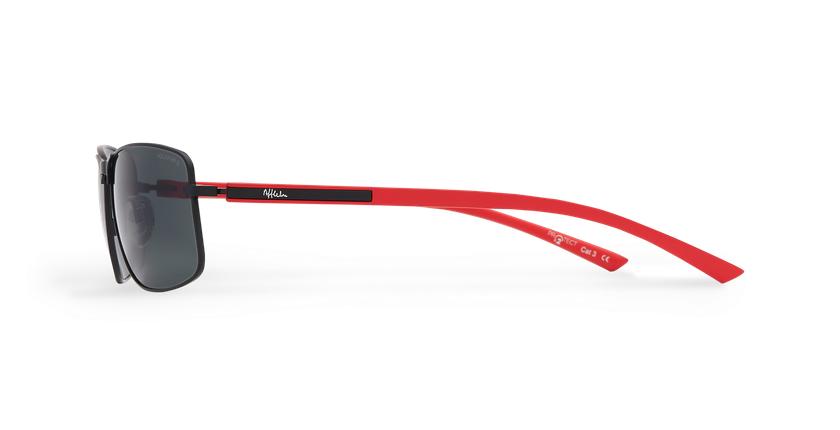 Gafas de sol hombre ONATI POLARIZED negro/rojo - vista de lado