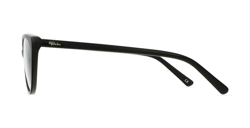 Gafas graduadas mujer OAF21621 negro - vista de lado