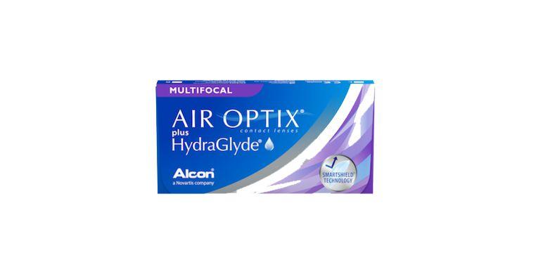 Lentillas Air Optix Hydraglyde Multifocal 6L