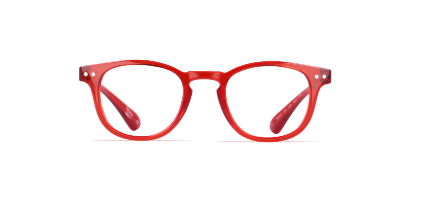Gafas graduadas niños BLUE BLOCK NIÑOS rojo - vista de frente