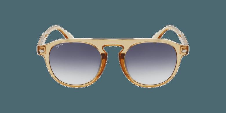 Gafas de sol BEACH doradovista de frente