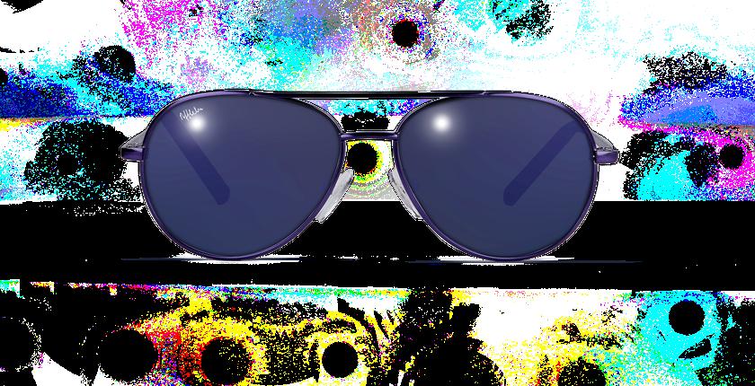 Gafas de sol niños PLAYA morado - vista de frente