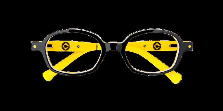 Gafas graduadas niños CARL2 negro/amarillo