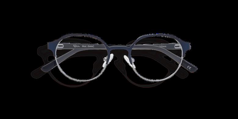 7c02100b7f Retro / vintage. Cargando imagen. Gafas graduadas ISAAC azul/gris ...