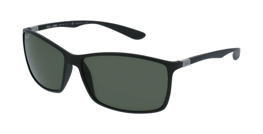 Gafas de sol hombre LITEFORCE negro - vue de 3/4