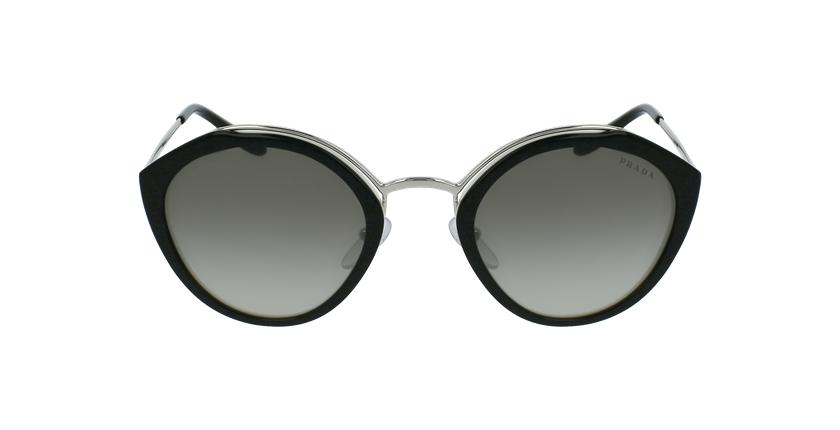 Gafas de sol mujer 0PR 18US negro/plateado - vista de frente