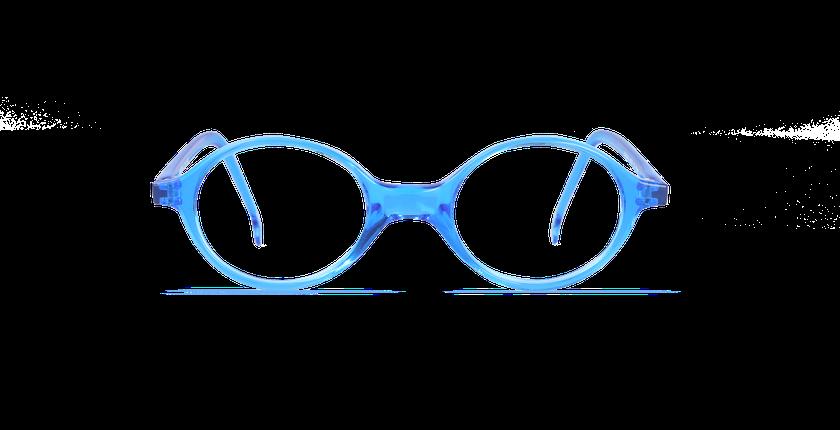 Gafas graduadas niños MAEL azul - vista de frente
