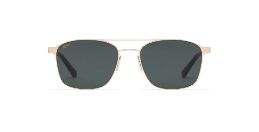 Gafas de sol hombre RENO dorado - vista de frente