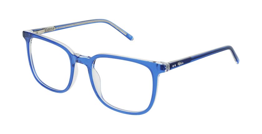 Gafas graduadas GASPARD azul - vue de 3/4